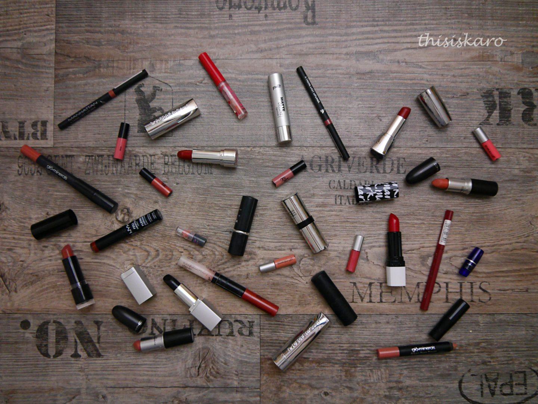 Meine Lippenstifte, Lipliner und Lipglosse