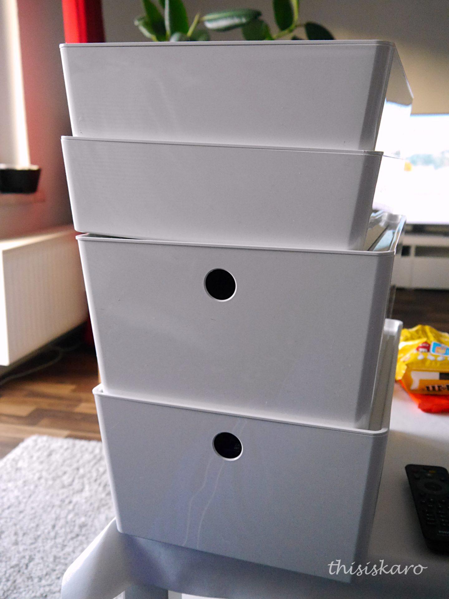 Eine Möglichkeit ein Badezimmer zu organisieren