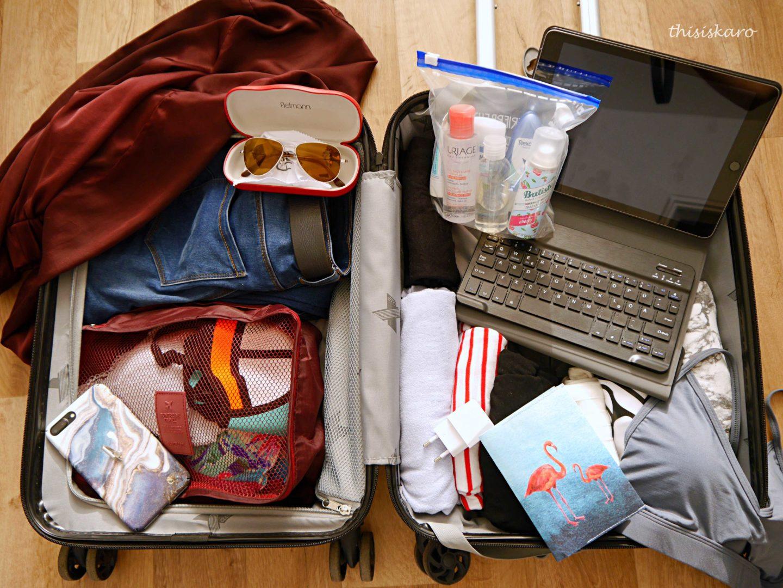 Tipps zum Reisen nur mit Handgepäck